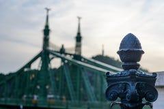 Detalles del puente Imagen de archivo