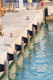Detalles del puerto Foto de archivo