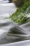 Detalles del río en el movimiento fotos de archivo libres de regalías
