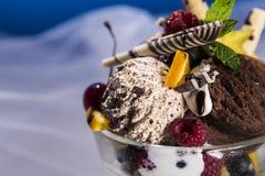 Detalles del sueño del helado Imágenes de archivo libres de regalías