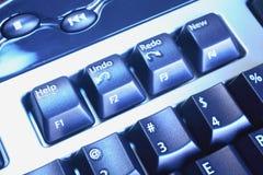 Detalles del teclado Imagenes de archivo