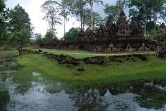 Detalles del templo Foto de archivo