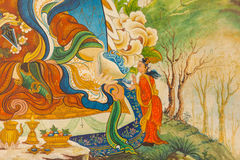 Detalles del templo budista foto de archivo libre de regalías