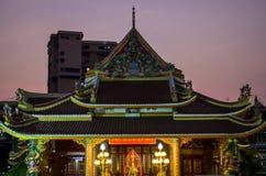 Detalles del templo chino en Bangkok foto de archivo libre de regalías