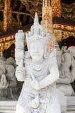 Detalles del templo de Hinduist en Bali Indonesia Foto de archivo libre de regalías