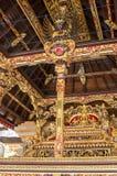 Detalles del templo de Hinduist en Bali Indonesia Imagen de archivo libre de regalías