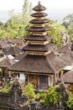 Detalles del templo de Hinduist en Bali Indonesia Foto de archivo