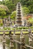 Detalles del templo de Hinduist en Bali Indonesia Imagen de archivo
