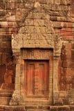 Detalles del templo de Wat Phu Champasak en Laos fotografía de archivo