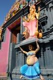 Detalles del templo hindú Imágenes de archivo libres de regalías