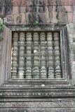 Detalles del templo Wat Phu en Laos Imagen de archivo libre de regalías