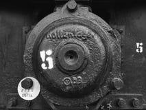 Detalles del tren fotos de archivo libres de regalías