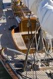 Detalles del velero Imagen de archivo