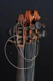 Detalles 2 del violín Imagenes de archivo