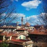 Detalles en Florencia Fotografía de archivo libre de regalías