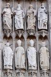 Detalles de la catedral Fotografía de archivo