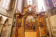 Detalles de la catedral Fotografía de archivo libre de regalías