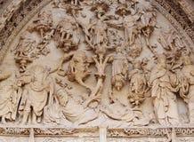 Detalles góticos de la catedral Fotografía de archivo libre de regalías