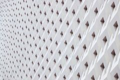 Detalles geométricos de la arquitectura del modelo de los detalles de la arquitectura del panel del cemento foto de archivo
