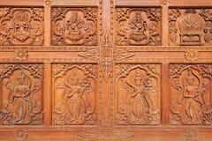 Detalles globales de la pagoda de Vipassana Foto de archivo