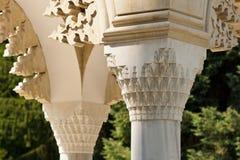 Detalles hermosos del arhitecture Imagen de archivo