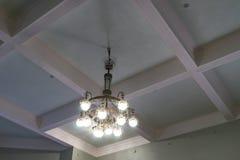 Detalles interiores - la iluminación en el cuarto Fotos de archivo