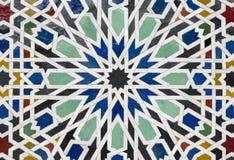 Detalles marroquíes de la configuración Imágenes de archivo libres de regalías