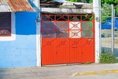 Detalles mexicanos de la arquitectura Foto de archivo