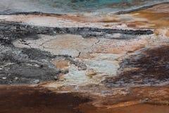 Detalles minerales de las primaveras Imágenes de archivo libres de regalías