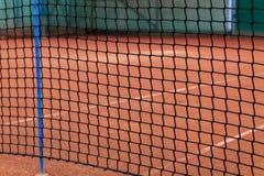 Detalles netos del tenis Foto de archivo libre de regalías