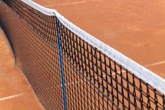 Detalles netos del tenis Foto de archivo