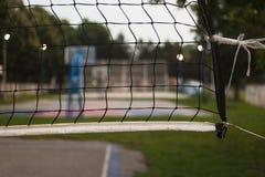 Detalles netos del voleibol Fotos de archivo