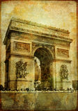 Detalles parisienses Fotos de archivo libres de regalías