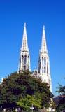 Detalles votivos de la iglesia, Viena Fotos de archivo libres de regalías