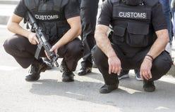 Detección de drogas de las aduanas Imagen de archivo