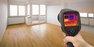 Detecção de escape do calor Foto de Stock