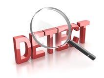 Detect Stock Image