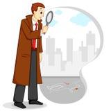 Detective Stock Illustratie