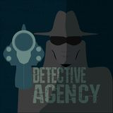 Detective agency Royalty Free Stock Image