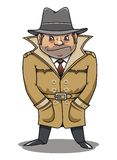 Detective agent or spy man Royalty Free Stock Photo