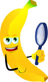 Detective banana Stock Photography