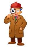 Detective Boy Stock Image