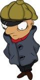 The detective. Cartoon Stock Photos