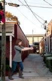 Detective de sexo femenino Fotografía de archivo libre de regalías