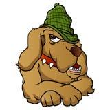 Detective dogcartoon Royalty Free Stock Photo