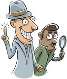 Detective Inspiration Stock Photography