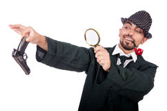 Detective joven fotografía de archivo libre de regalías