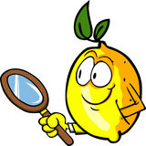 Detective lemon Stock Photos