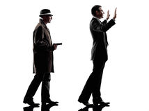 Free Detective Man Criminal Investigations Silhouette Royalty Free Stock Images - 41472339