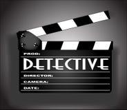 Detective Movie royalty-vrije illustratie